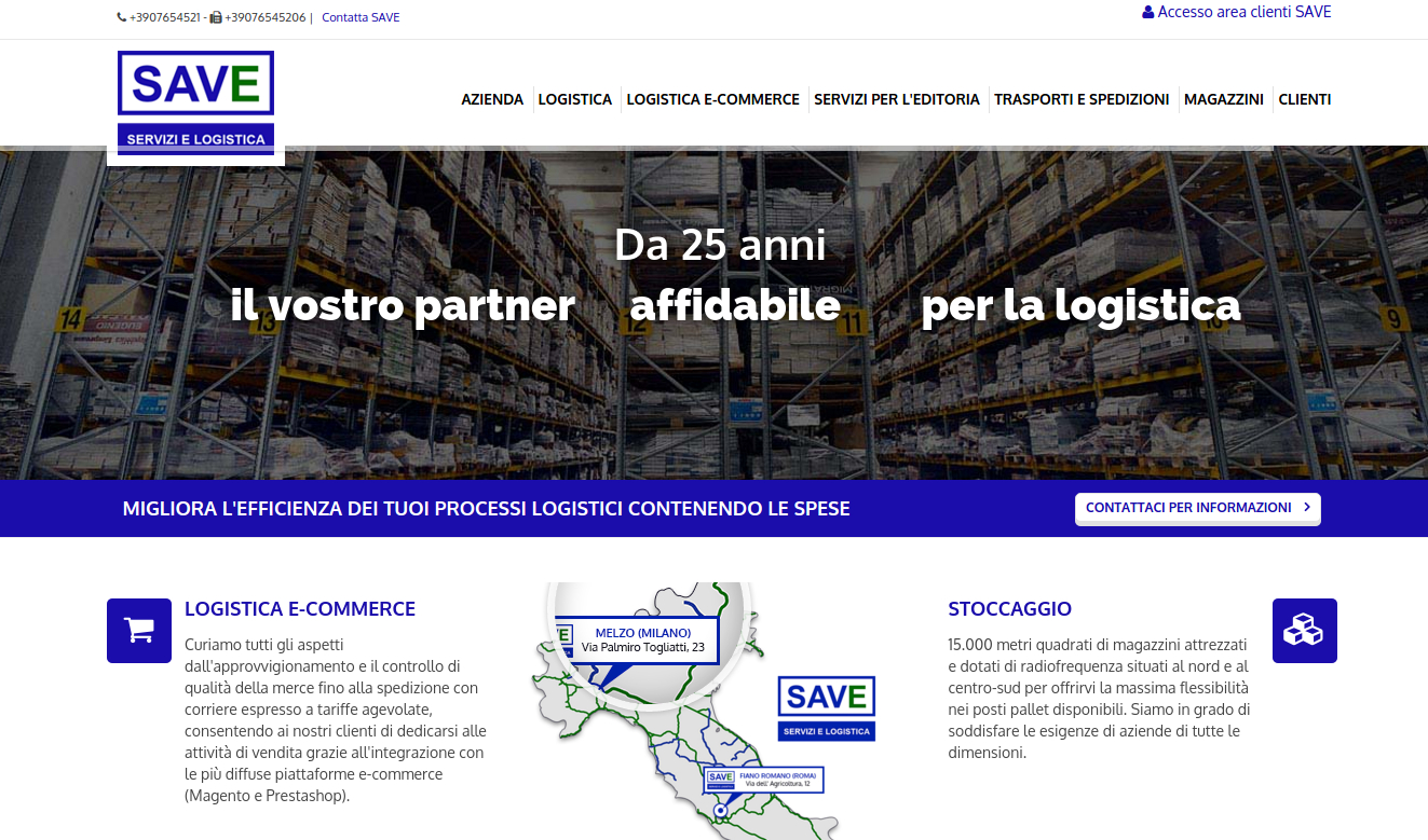 SAVE logistica di magazzino