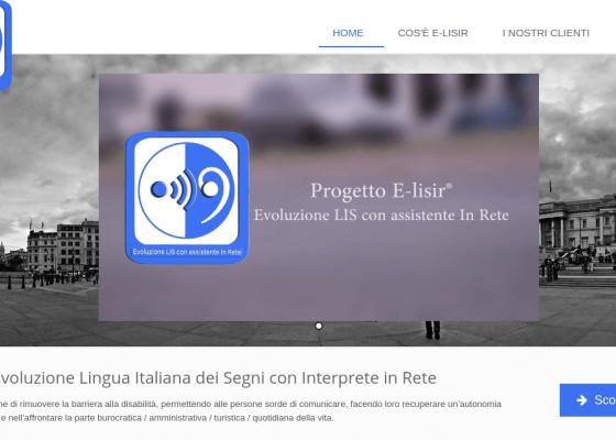 Elisir - Evoluzione della lingua italiana dei segni